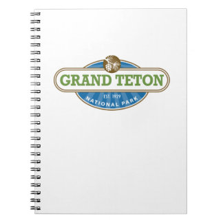 Grand Teton National Park Notebooks