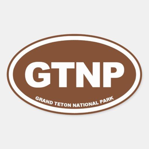 Canapé En Soldes Chez Fly : Grand Teton National Park Oval Sticker  Zazzle