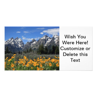 Grand Teton National Park Personalized Photo Card