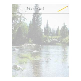 Grand Teton National Park photography Letterhead Design