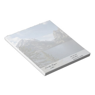 Grand Teton National Park photography Memo Pads