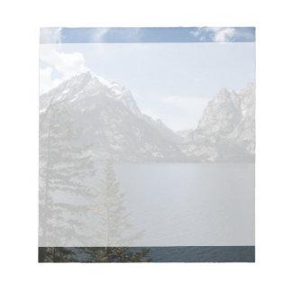 Grand Teton National Park photography Notepads