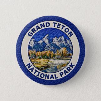Grand Teton National Park Pinback Button