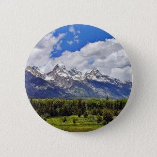Grand Teton National Park. Pinback Button
