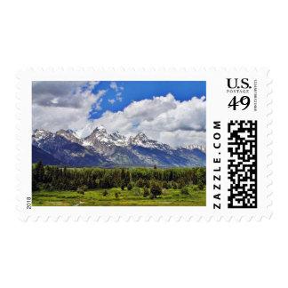 Grand Teton National Park. Postage