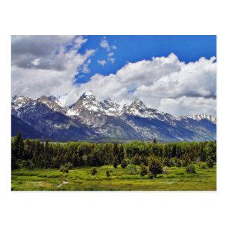 Grand Teton National Park. Postcard