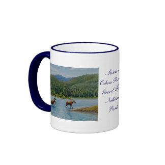 Grand Teton National Park Ringer Coffee Mug