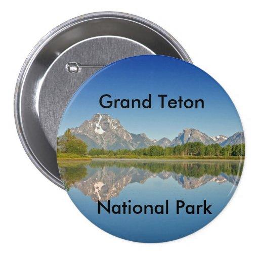 Grand Teton National Park Series 10 Pinback Button