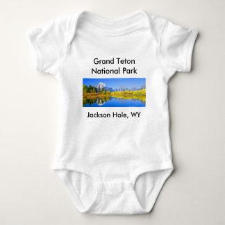 Grand Teton National Park Series 1 Baby Bodysuit