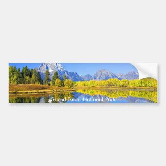 Grand Teton National Park Series 1 Bumper Sticker