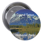 Grand Teton National Park Series 4 3 Inch Round Button