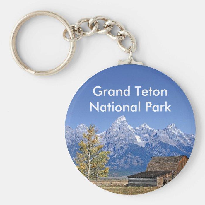 Grand Teton National Park Series 5 Keychain