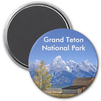 Grand Teton National Park Series 5 Magnet