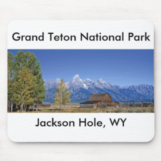 Grand Teton National Park Series 5 Mouse Pad