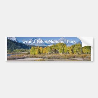 Grand Teton National Park Series 6 Bumper Sticker