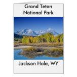 Grand Teton National Park Series 6 Greeting Card
