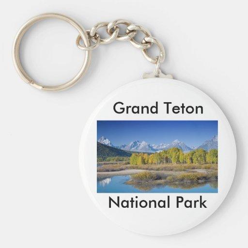 Grand Teton National Park Series 6 Keychain