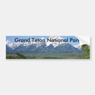 Grand Teton National Park Series 8 Bumper Sticker