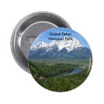 Grand Teton National Park Series 8 Button