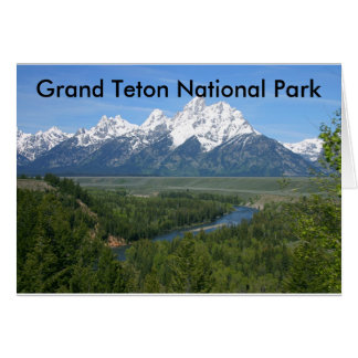 Grand Teton National Park Series 8 Card