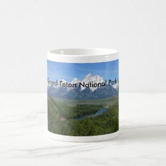 Grand Teton National Park Series 8 Classic White Coffee Mug
