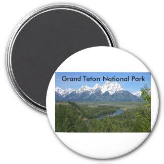 Grand Teton National Park Series 8 Refrigerator Magnet