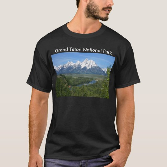 Grand Teton National Park Series 8 T-Shirt