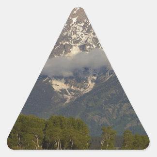 Grand Teton National Park Triangle Sticker