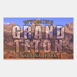 Grand Teton National Park Stickers