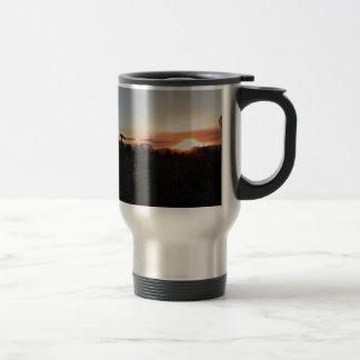 Grand Teton National Park Sunset Coffee Mugs