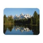 Grand Teton National Park, Teton Range, Wyoming, Rectangular Photo Magnet
