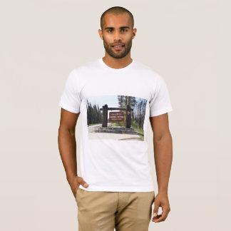 Grand Teton National Park, US National Park, Sign T-Shirt