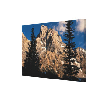 Grand Teton National Park , Wyoming 2 Canvas Print