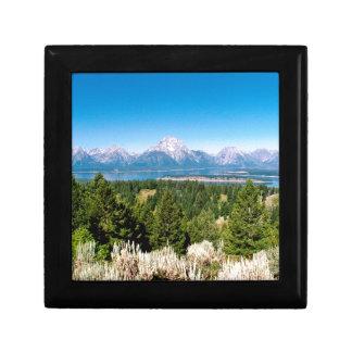 Grand Teton National Park Wyoming Keepsake Box