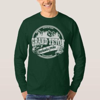 Grand Teton Old Circle White T-Shirt