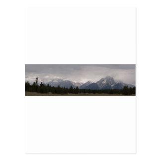 Grand Teton Panorama 1 Postcard