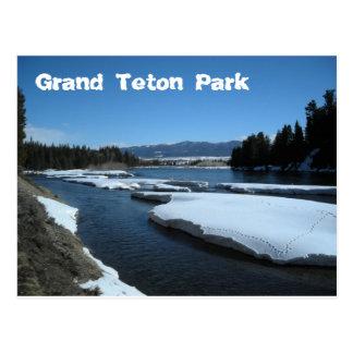 Grand Teton Park Postcard