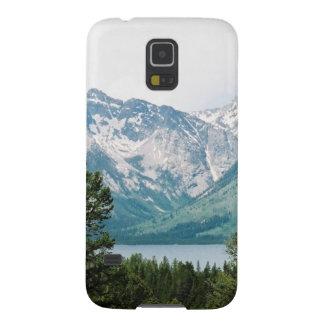Grand Teton Range Across Jackson Lake Galaxy S5 Case