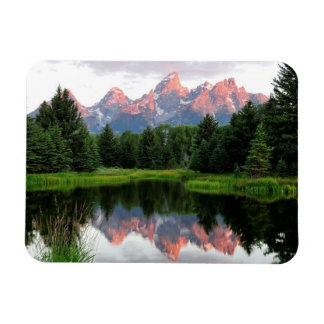 Grand Teton Reflections Over the Beaver Pond Magnet