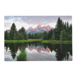 Grand Teton Reflections Over the Beaver Pond Placemat