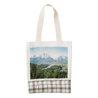 Grand Teton Snake River Overlook Zazzle HEART Tote Bag