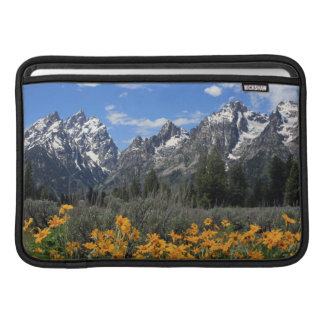 Grand Teton Springtime Souvenir Photo MacBook Sleeve