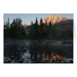 Grand Teton Sunrise at Cottonwood Creek Card