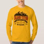 Grand Teton Vintage Maroon T Shirt