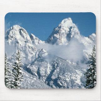 Grand Teton Winter Mouse Pad