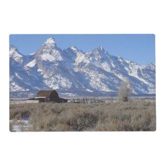 Grand Teton Winter Placemat