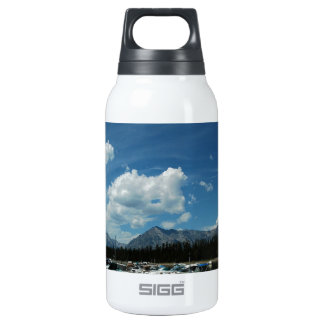 Grand Tetons and Canoes Insulated Water Bottle