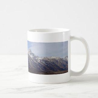 Grand Tetons Classic White Coffee Mug