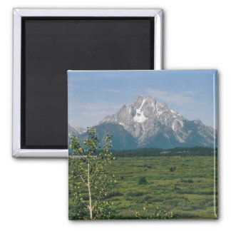 Grand Tetons 2 Inch Square Magnet
