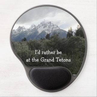 Grand Tetons Mousepad Gel Mouse Pad
